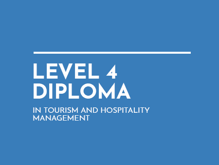 Diploma in Tourism Management Level 4