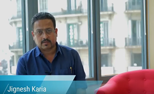 Video message from Jignesh Karia, Director of Trna India