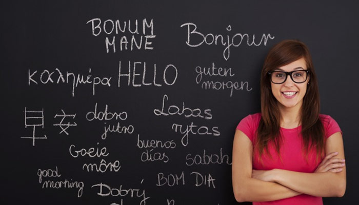 Hello Written in multiple  languages | Cultural Immersion |  Advantages of Studying Abroad
