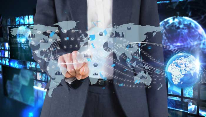 Business Pointing towards Map of world | Benefits Studying International Business