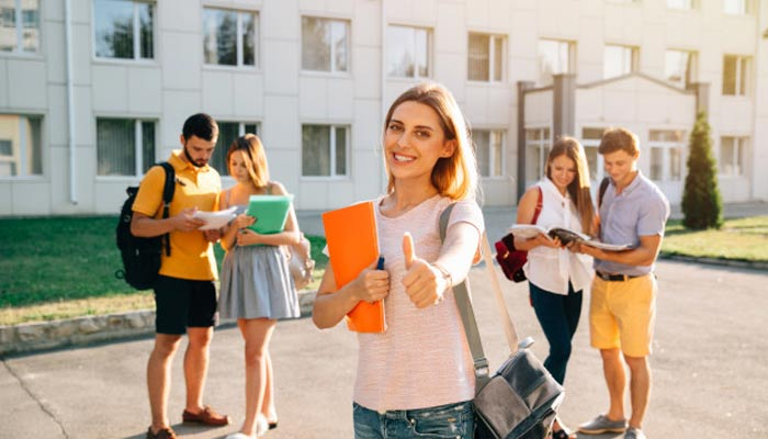 Group of College Students | MBA as a career option | Is MBA in Spain a good career option