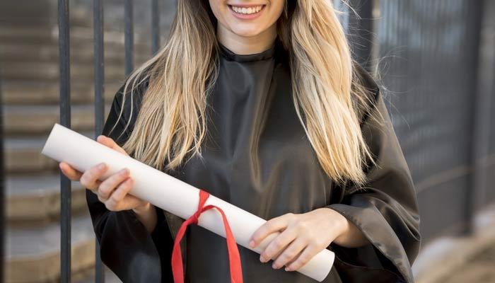Student Holding Degree | Benefits Studying Abroad International Student