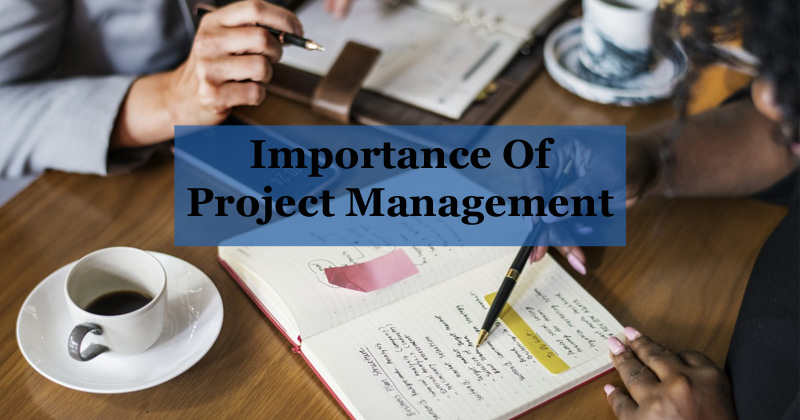 The Importance Of Project Management Contributes Directly To An Organisation's Success