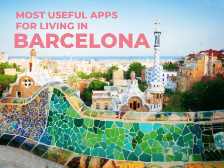 Most useful apps for living in Barcelona -Download them for free!