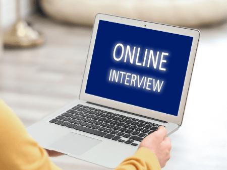 online interviews