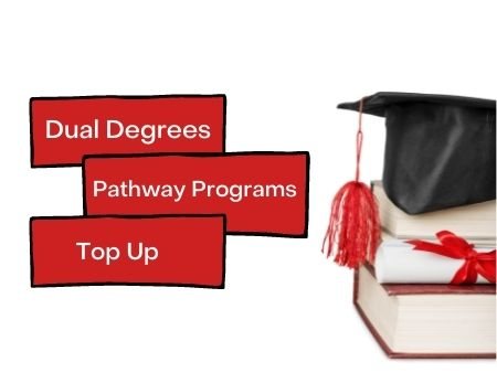 Dual degrees, Pathway programs & Top Up – blog
