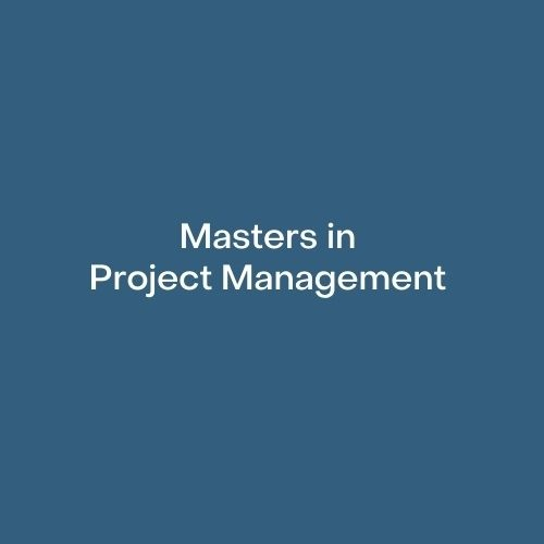 Masters in Project Management